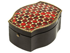 c1840 French Boulle Inlaid Pocket Watch Display Box