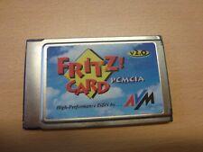 AVM Fritz!Card PCMCIA ISDN-Card V2.0 Karte