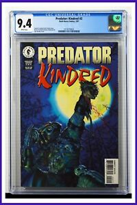 Predator Kindred #2 CGC Graded 9.4 Dark Horse January 1997 Comic Book.