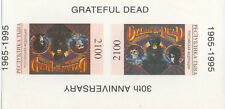 THE GRATEFUL DEAD 1965-1995 30th ANNIVERSARY IMPERFORATED MNH STAMP SHEETLET