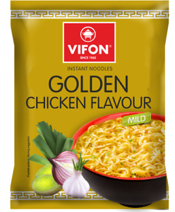 VIFON Golden Chicken Instant Noodles - 70G - Mild (Pack of 24) - FAST UK Dispatc
