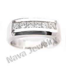 2.10 Ct. Men's Diamond Ring Channel Set Ring