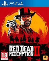Red Dead Redemption 2 II RDR2 Playstation 4 PS4 **FREE UK POSTAGE**