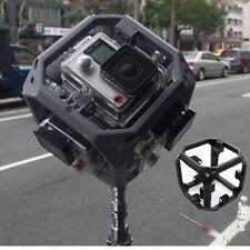Hot 360 Degree Spherical Panorama Mount For 6x GoPro Hero 3 3+ 4 Virtual Reality