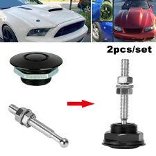 Push Button Quick Release Hood Bonnet Pins Lock Clip Car Bumper Latch
