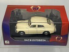 IST Models 1/43 GAZ M20 Pobieda 1950 Beige- USSR - Collectible Diecast IST002