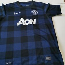 maillot  de football manchester united taille 12 /13 ans NIKE foot