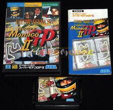 SUPER MONACO GP II Mega Drive Genesis Md Japanese version 1992 •••• COMPLETO