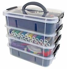 Stackable Plastic Storage Containers by Bins & Things | Plastic Storage Bin with