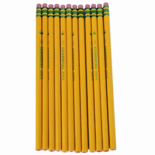 Dixon Ticonderoga Company Ticonderoga Pencil, with Eraser, No 1, Extra Soft,