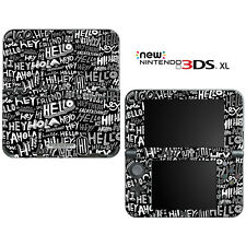 Say Hello Pattern for New Nintendo 3DS XL Skin Decal Cover
