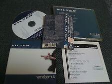 FILTER , NINE INCH NAILS / amalgamut / JAPAN LTD CD OBI