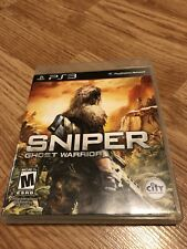 Sniper: Ghost Warrior (Sony PlayStation 3, 2011) Ps3 VC7