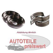 Zimmermann Bremstrommeln + Bremsbacken hinten Ford Fiesta V Fusion ab 2001