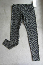 Lululemon Wunder Under Pant Fullux Chevron Shuffle Fatigue Green Black 8