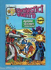 SUPER EROI - I FANTASTICI QUATTRO-CORNO-N.190- 17 LUGLIO 1978 -NO RESA+ADESIVI