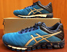 Asics Gel Quantum 180 T5J2N Electric Blue/Silver Blue in Men's Sizes with Box