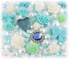 Charms y pulseras de charms de joyería turquesa