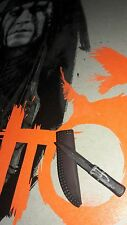 1/6 Hot Toys The Lone Ranger Tonto MMS217 Dagger with Sheath *US Seller*