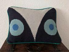 Jonathan Adler Owl Needlepoint Pillow Retired