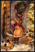 Merry Christmas - Counted Cross Stitch Patterns/Kits - B&W Symbols Charts