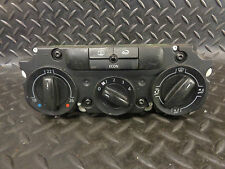 2003 VW GOLF MK4 1.9 TDI HEATER CONTROL PANEL
