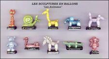 Feves  série complète - sculptures en ballon - prime - 2012