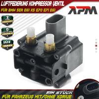 BMW X5 E70 Notfallset Luftfederung Kompressor