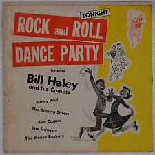 BILL HALEY & HIS COMETS: Rock and Roll Dance Party 50s SOMERSET Vinyl LP HEAR