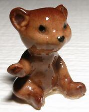 Vintage Miniature Hagen Renaker Bear Cub Sister #401 1988 Retired