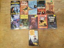 Lot of 11 SCI-FI books (SHARDS OF HONOUR, A Bertram Chandler, Charboneau, etc)