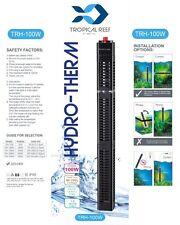 Hydro-Therm 100W calentador acuario con protector de calentador pecera sumergible Stat