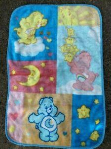 The Care Bears Velour Baby Blanket