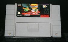 daffy duck the marvin mission SNES Super Nintendo NTSC
