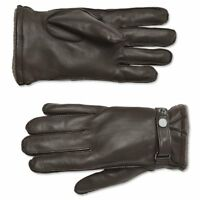 ORVIS Coventry Cashmere Lined Leather Gloves / MEN'S / Brown / EXTRA LARGE / $98