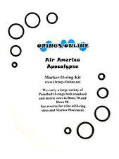 Air America High Pressure Regulator Paintball O-ring Kit x 4 rebuilds / kits