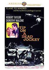 TIP ON A DEAD JOCKEY - (1957 Robert Taylor) Region Free DVD - Sealed