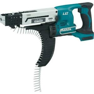 Makita XRF02Z 18V LXT Lithium-Ion Cordless Autofeed Screwdriver, Bare Tool
