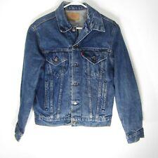 Vintage Levis Jean Jacket Mens Size 40 Denim Trucker Coat Made in USA
