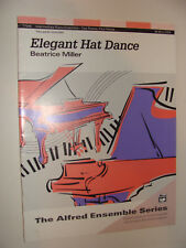 Elegant Hat Dance by Beatrice Miller 2 pianos 4 hands  2 folios 1997