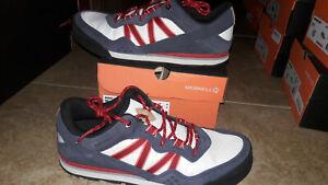 NEW Mens Merrell Burnt Rock Mills Shoes, size 12