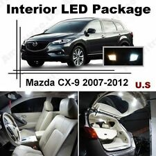 White LED Lights Interior Package Kit for Mazda CX-9 2007-2012 ( 11 Pcs )
