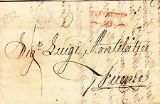 Z726-LOMBARDO VENETO, PREF., DA TRENTO A FIRENZE, 1832