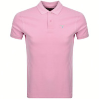 Barbour Sports Polo Shirt in Pink
