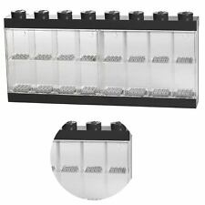 Authentic Lego Storage Display Case Ror 16 Mini Figures Minifigures Black NEW