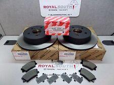Toyota Rav4 Rear Rotors & Brake Pad Set Genuine OE OEM