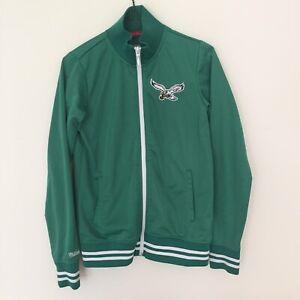 Mitchell & Ness Throwbacks Philadelphia Eagles Kelly Green Youth S Jacket