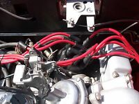 RED 8.5MM PERFORMANCE IGNITION LEADS FOR THE TRIUMPH STAG 3.0 V8 QUALITY LEADS
