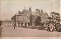 Aston Hall 1886 RPPC postcard real photograph antique social history Sclaters