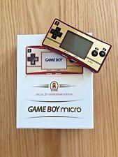Nintendo Game Boy MIcro 20th Anniversary Edition Famicom Color Console